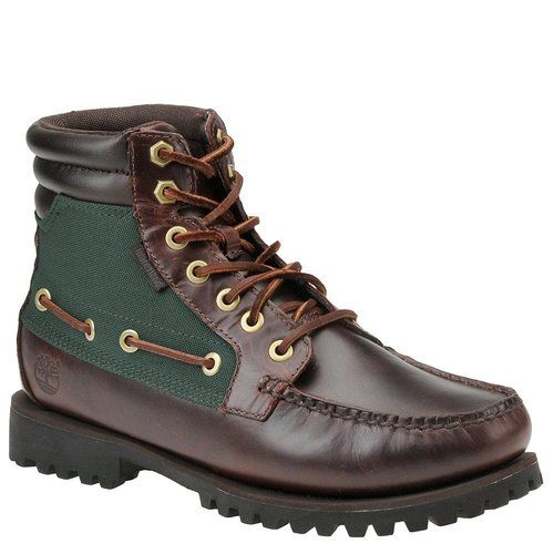 Timberland Mens 56506 Oakwell 7 Eye Toe Brown Casual Hiking Trail ...