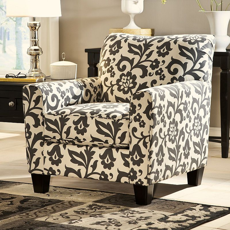 Signature Design By Ashley Levon Fabric Club Chair Furniture Furniture Homestore