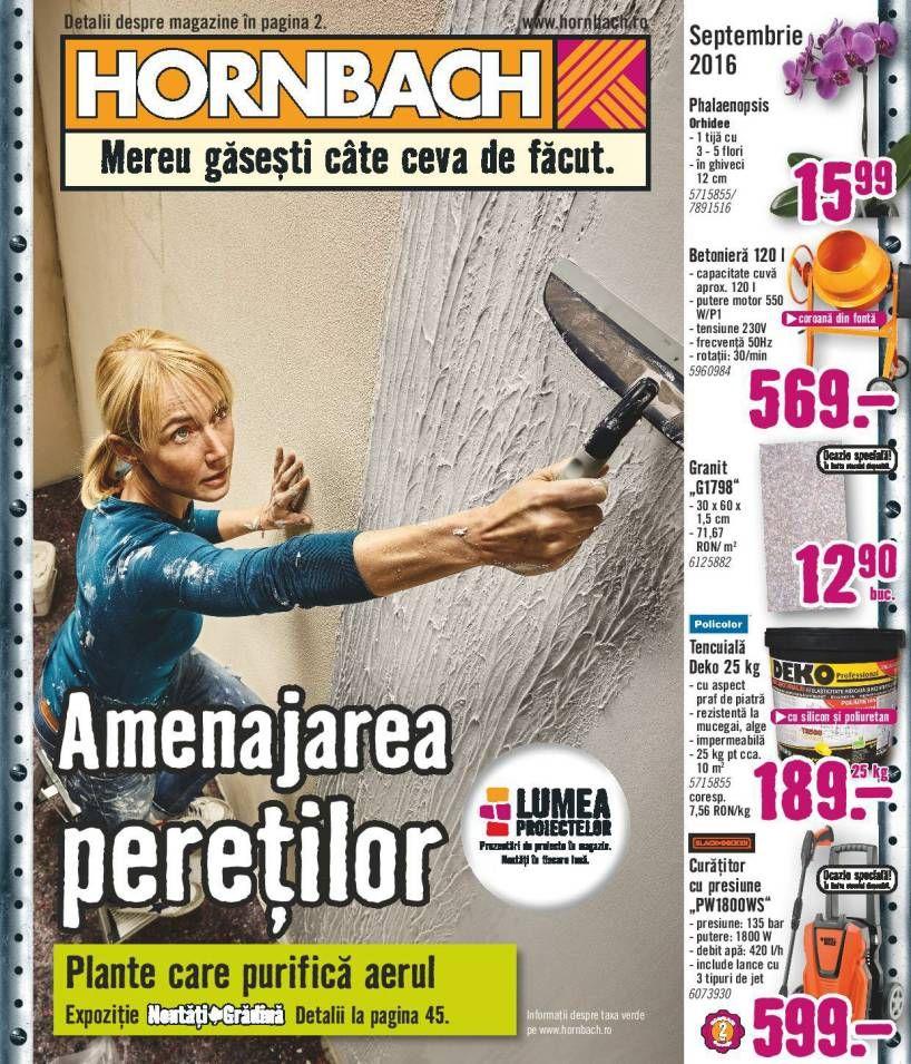 Catalog Hornbach Amenajarea Peretilor Septembrie 2016 Home Improvement Catalog Home Improvement Improvements Catalog