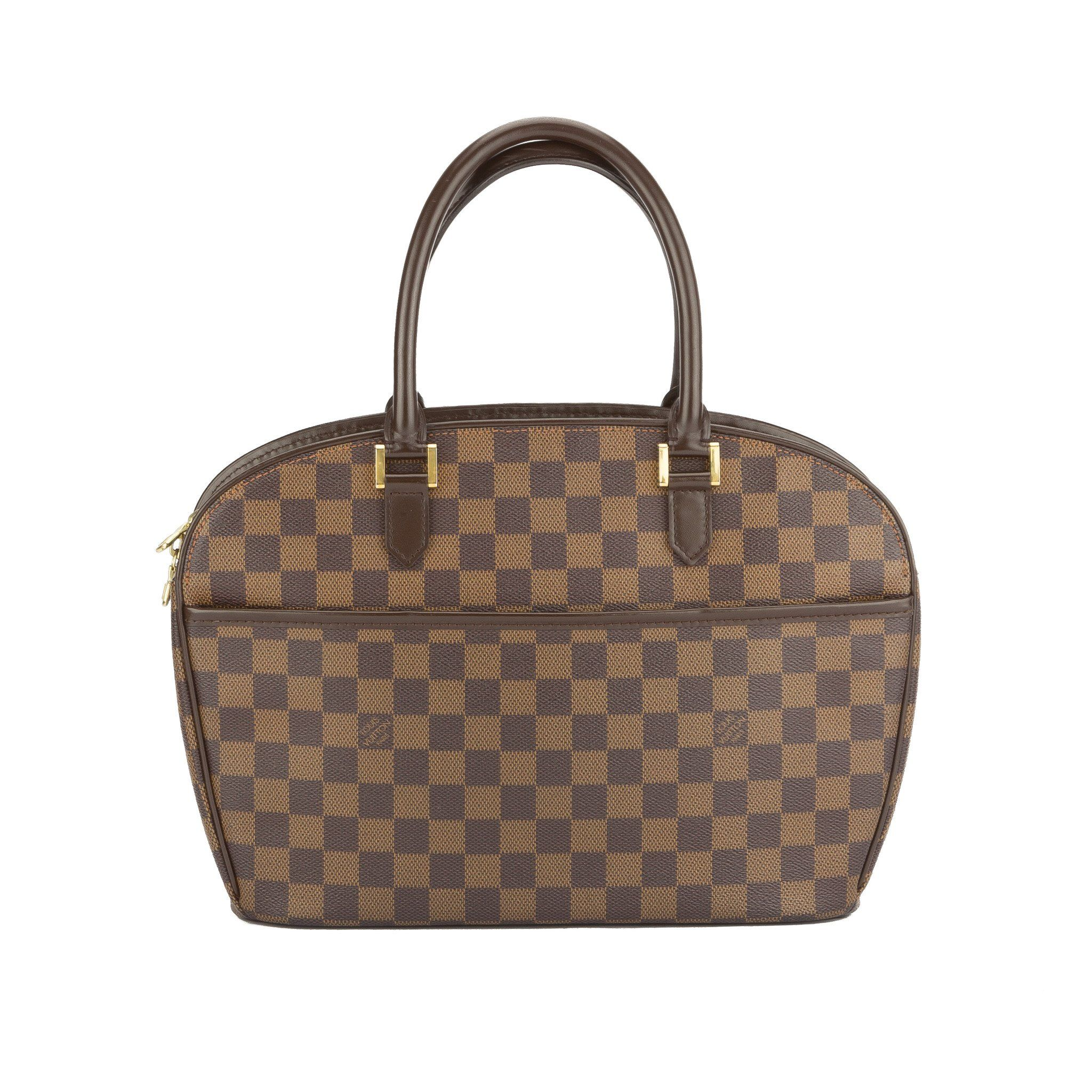 Louis Vuitton Damier Ebene Sarria Horizontal Bag (Pre Owned ... e3e16f9739