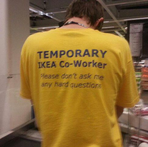 It's about brilliant staff uniforms.