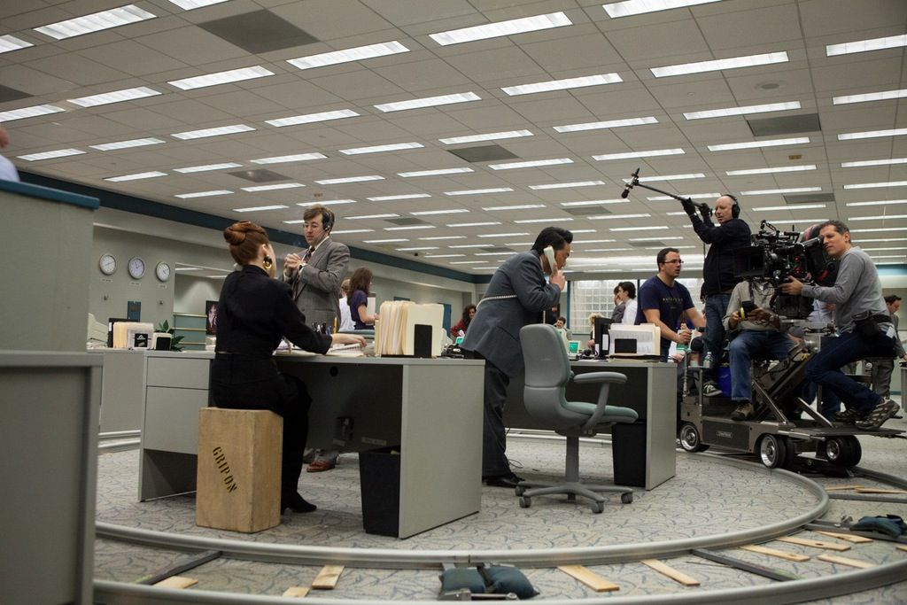 shooting a 360 degree dolly shot on the wolf of wall on the wolf of wall street id=79639