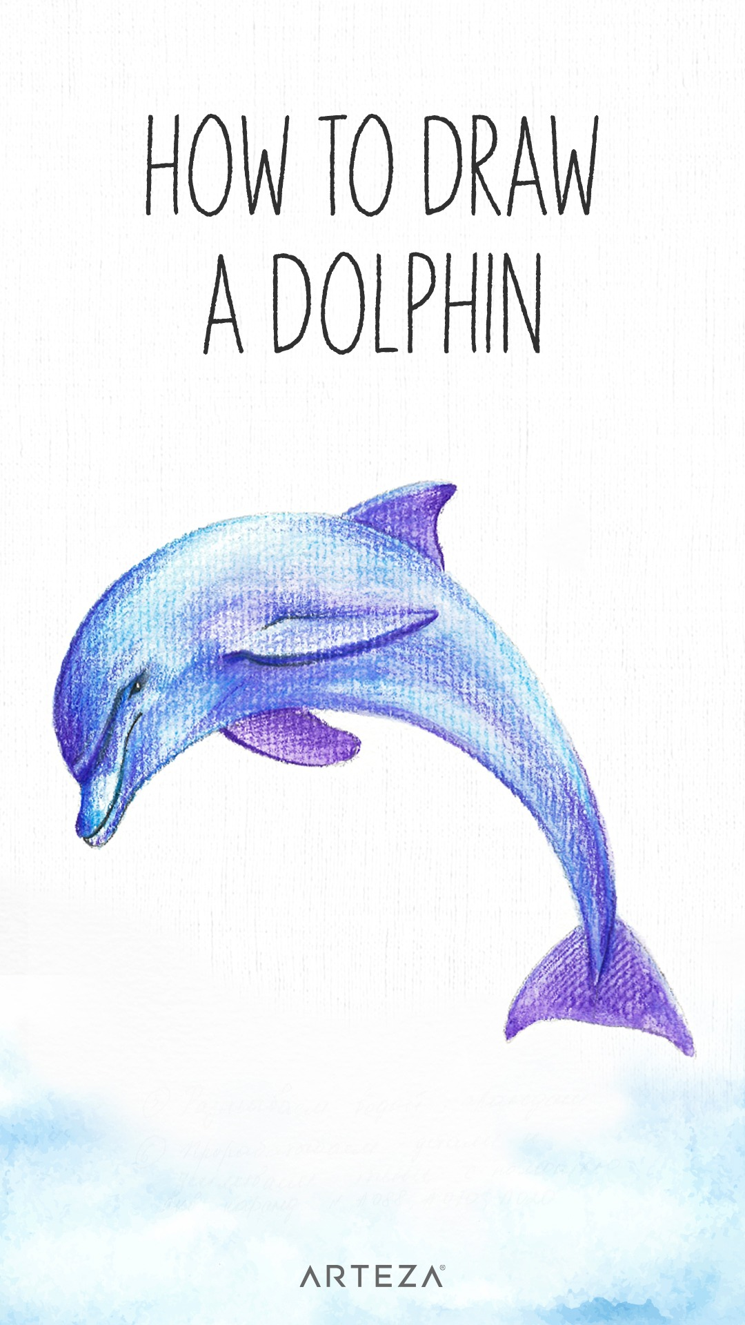 Draw a Dolphin with Arteza