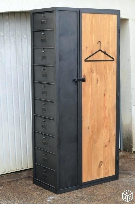 armoire style industriel armoire style