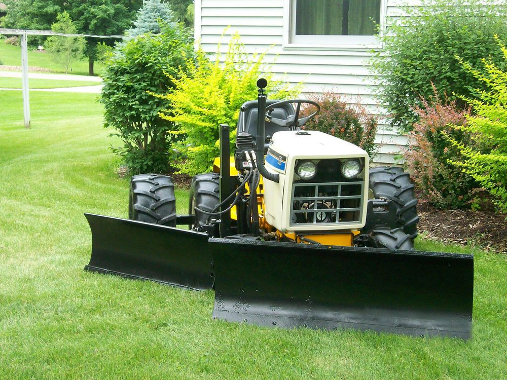 Cub cadet super garden tractor with plow tractor for Garden machinery for sale