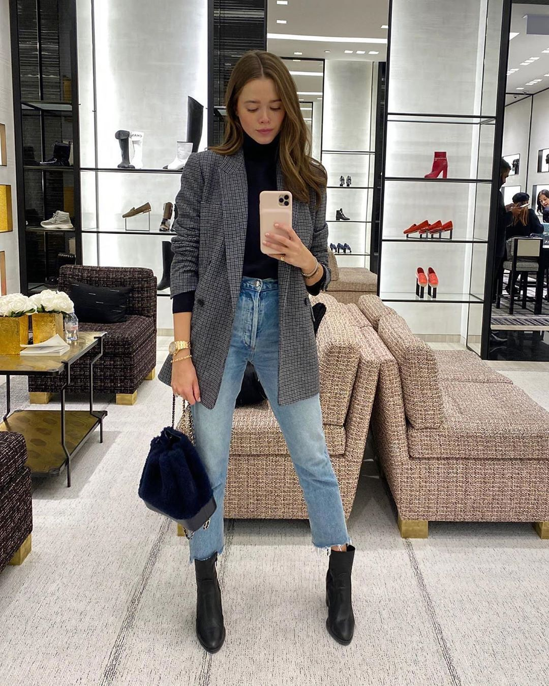 "Valeria Lipovetsky on Instagram: ""Blue jeans and a"