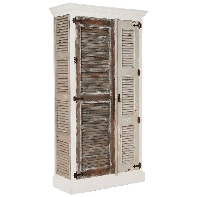 Lovely Sand And Sea Shutter Door Cabinet