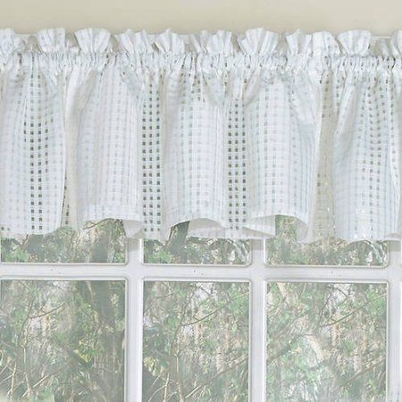Home Curtains Sweet Home Collection Kitchen Window Curtains