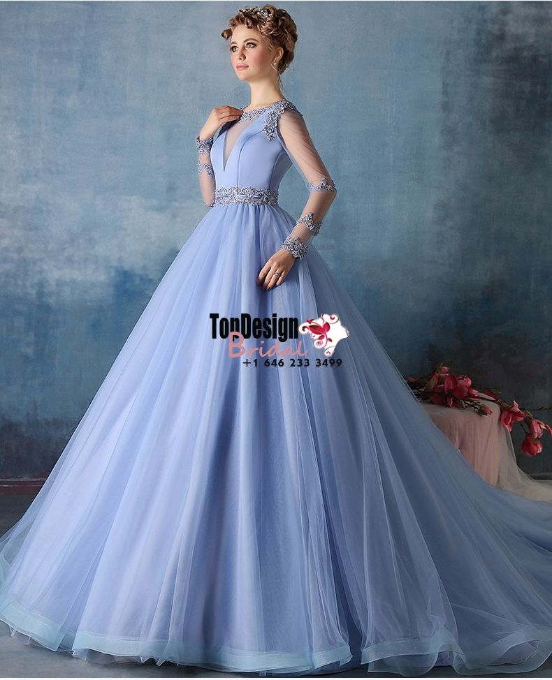 Wholesale Vestidos De Fiesta New 2017 Sweet 15 Dress Sky Blue Satin ...