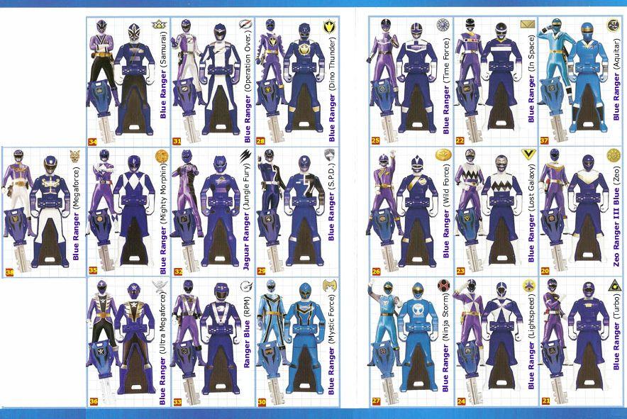 Héros de BD LOOSE  Power Rangers Super Megaforce Key Red Mystic Force Ranger Figurines, statues