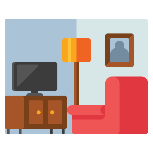 Living Room Free Vector Icons Designed By Flat Icons Vector Free Free Icons Vector Icon Design