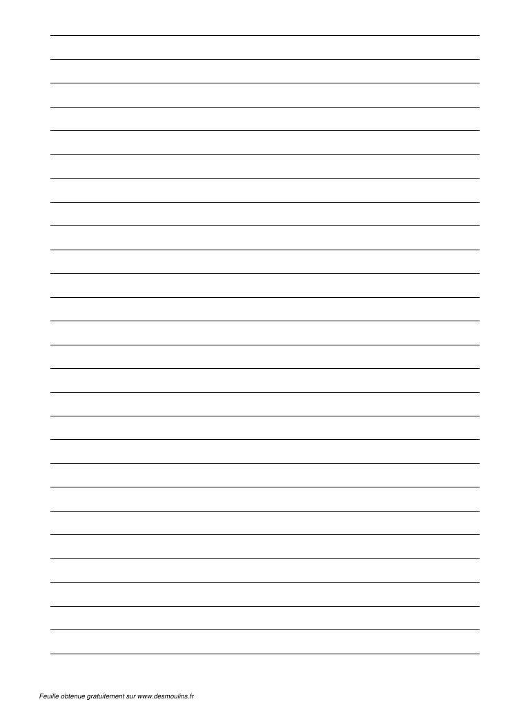 fichier pdf feuille lignee  type papier a lettre  pdf