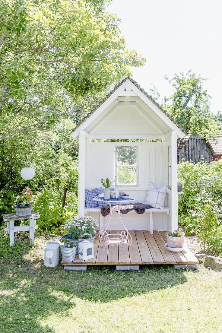 DIY Gartenlaube und Friday Flowerday • Pomponetti