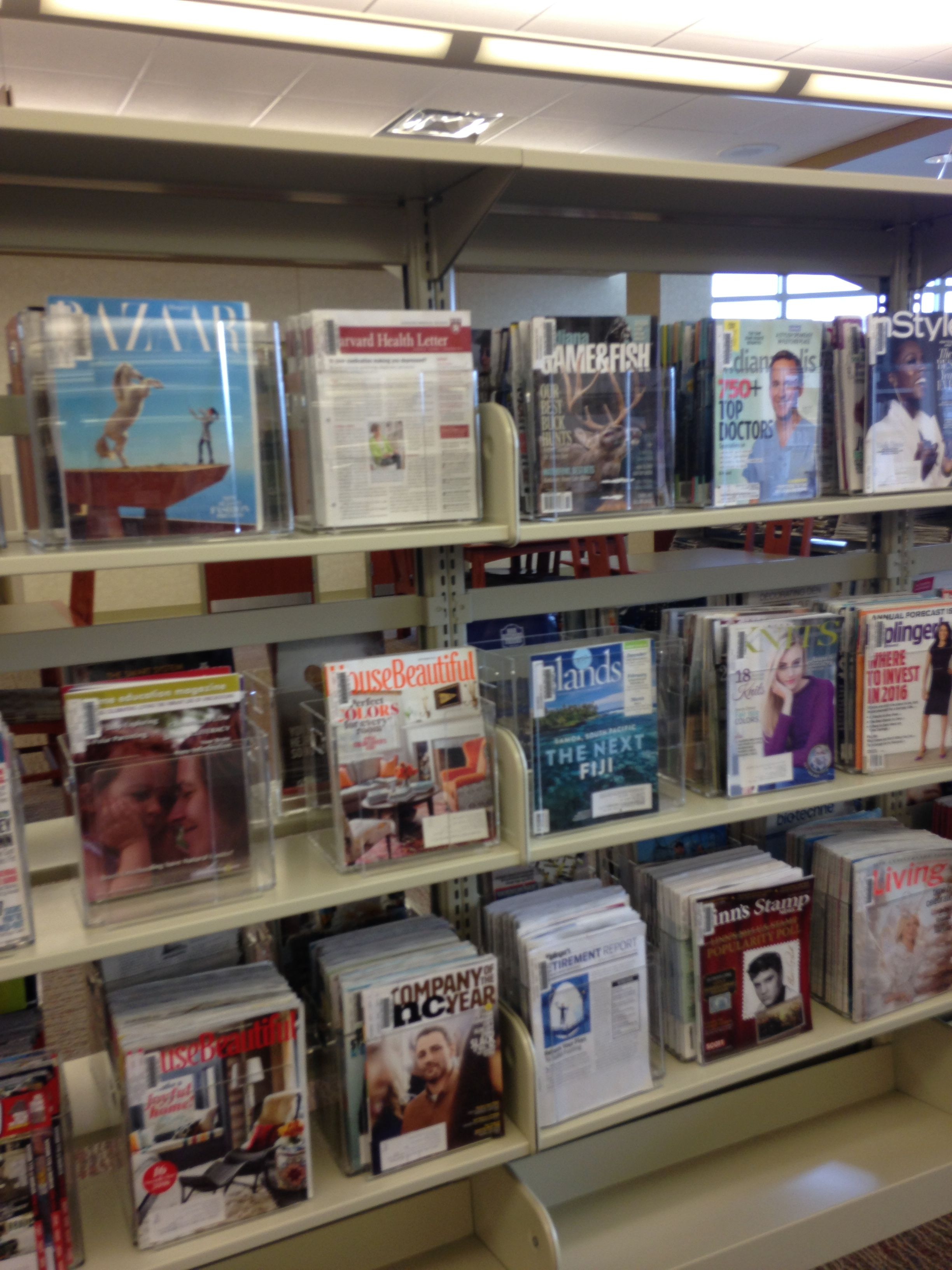 Great way to display magazines