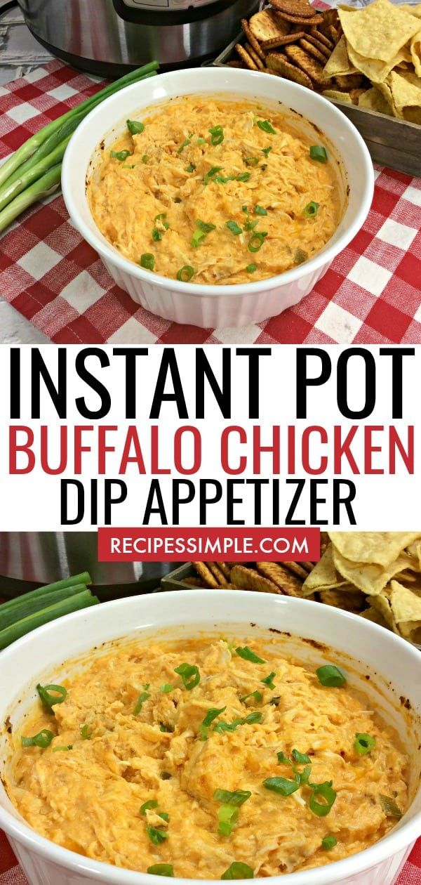 Instant Pot Buffalo Chicken Dip Recipe Buffalo chicken