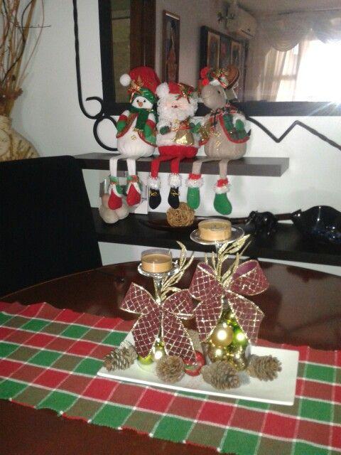 Centro de mesa para comedor centro de mesa deco - Decoraciones de mesas de comedor ...