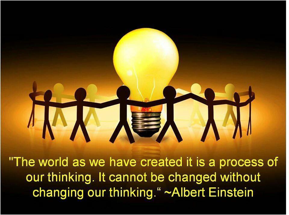 adapt you thinking