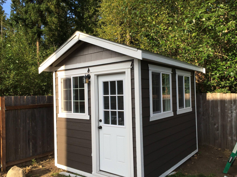 backyard office build | backyard, backyard office and outdoor office