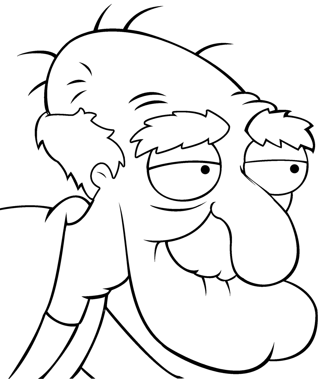family guy herbert - Family Guy Coloring Pages