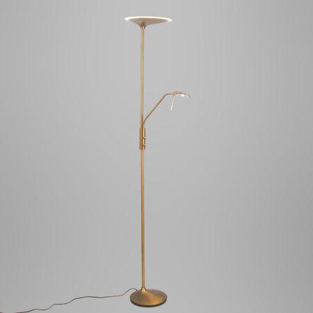 Attraktiv Stehleuchte Diva 2 Bronze: #innenbeleuchtung #deckenfluter #stehleuchte # Deckenfluter