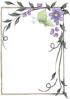 Bordes para decorar hojas imagenes y dibujos para for Decoraciones para hojas