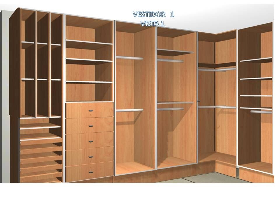 Closets sobre medida placares y vestidores pinterest for Closet a medida