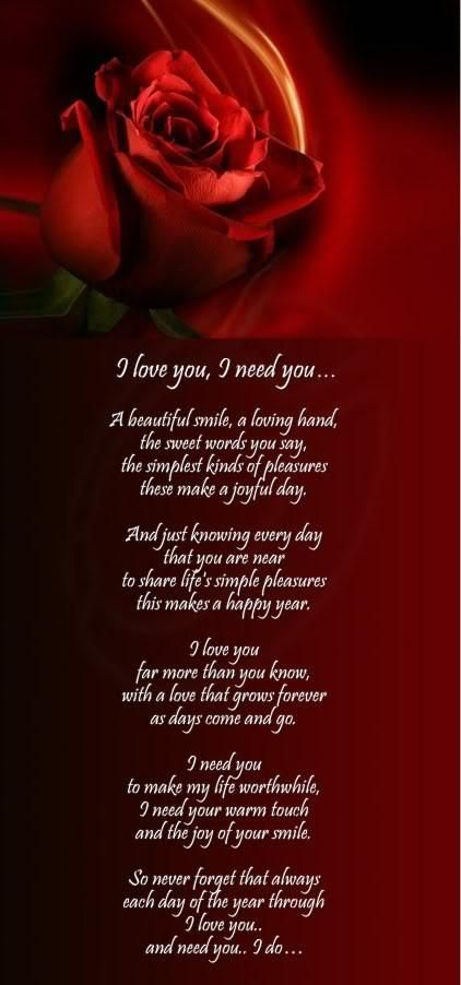 I love you so much quotes and poems