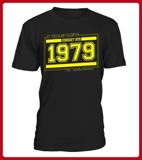 IwasthereFEBRUARY18TH1979 - Geburtstag shirts (*Partner-Link)