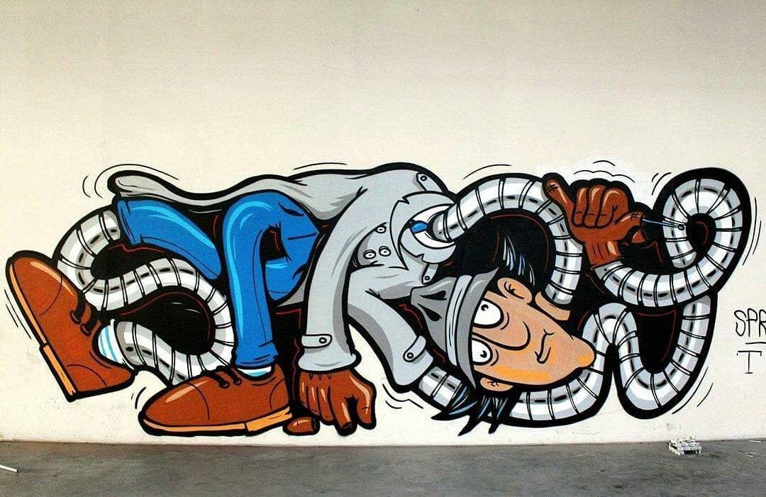 есть, из картинка превратить в граффити безумно