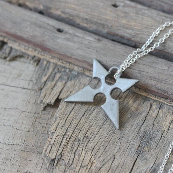 Kingdom hearts the key of destiny roxas charm necklace christmas kingdom hearts the key of destiny roxas charm necklace christmas gifts aloadofball Images