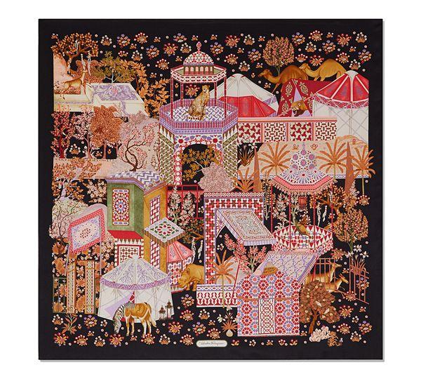 584109da63bf Salvatore Ferragamo, Moroccan Moroccan Print, Scarf Design, Salvatore  Ferragamo, Lanvin, Givenchy