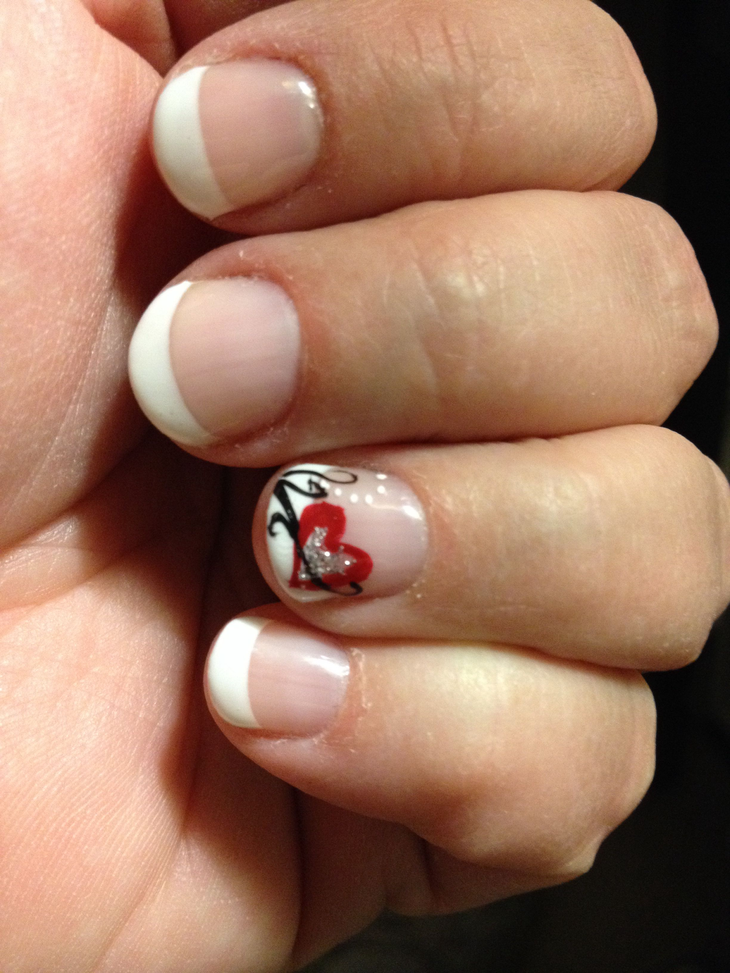 Valentine nail art by Lili from Magic Nails & Spa at Northwoods Mall ...