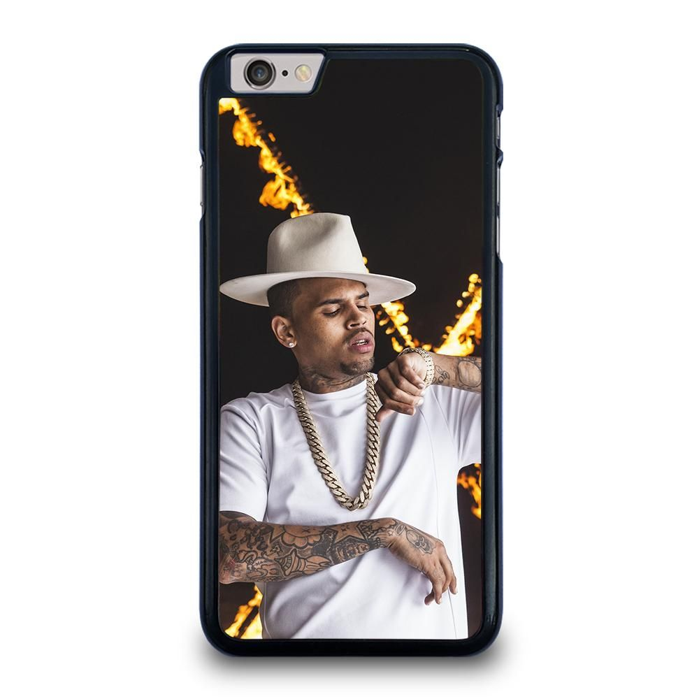 CHRIS BROWN 2 iPhone 6 / 6S Plus Case - White / Rubber