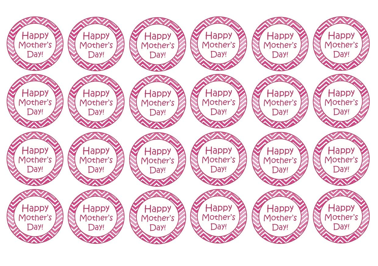 free mother 39 s day cupcake topper printables mothersdayideas cupcaketoppers freebies d a de. Black Bedroom Furniture Sets. Home Design Ideas