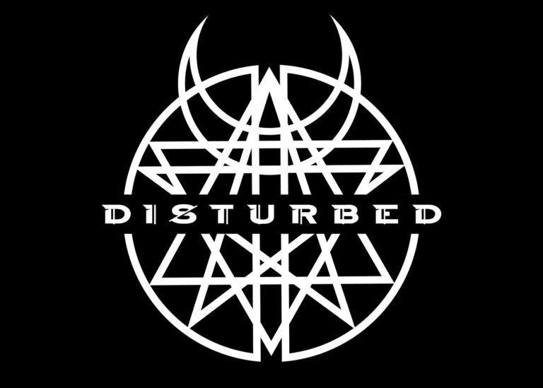 Meaning Disturbed Logo And Symbol History And Evolution Metal Band Logos Band Logo Design Band Logos