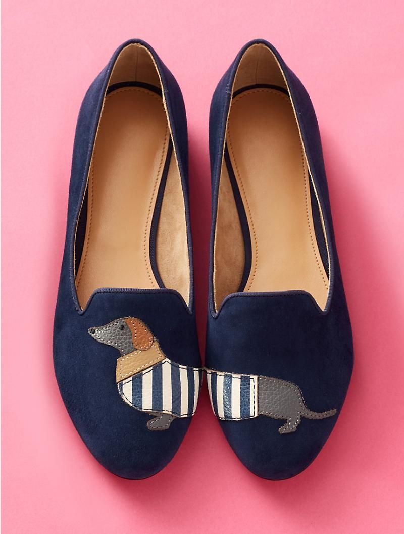 bd9606be386 Ryan Suede Loafers-Dog-Appliqué