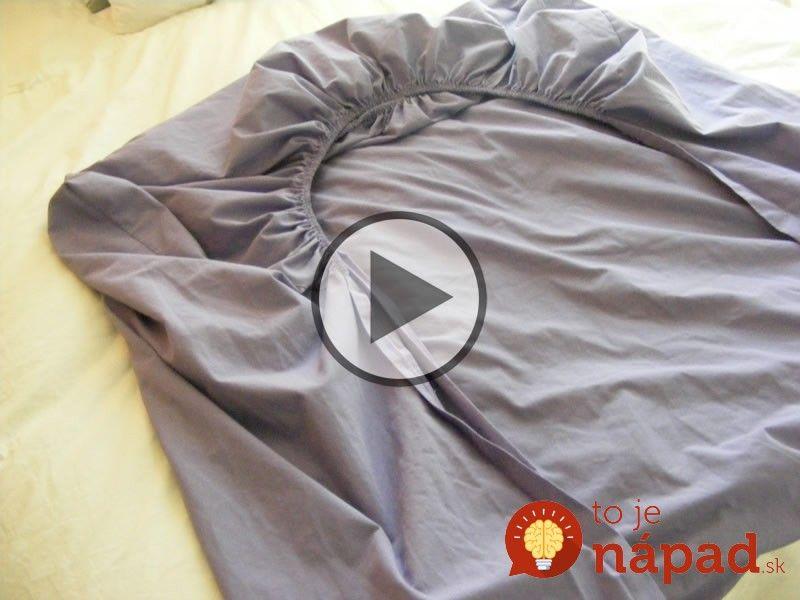 Video: Ako dokonale poskladať napínaciu plachtu za menej ako 2 minúty?