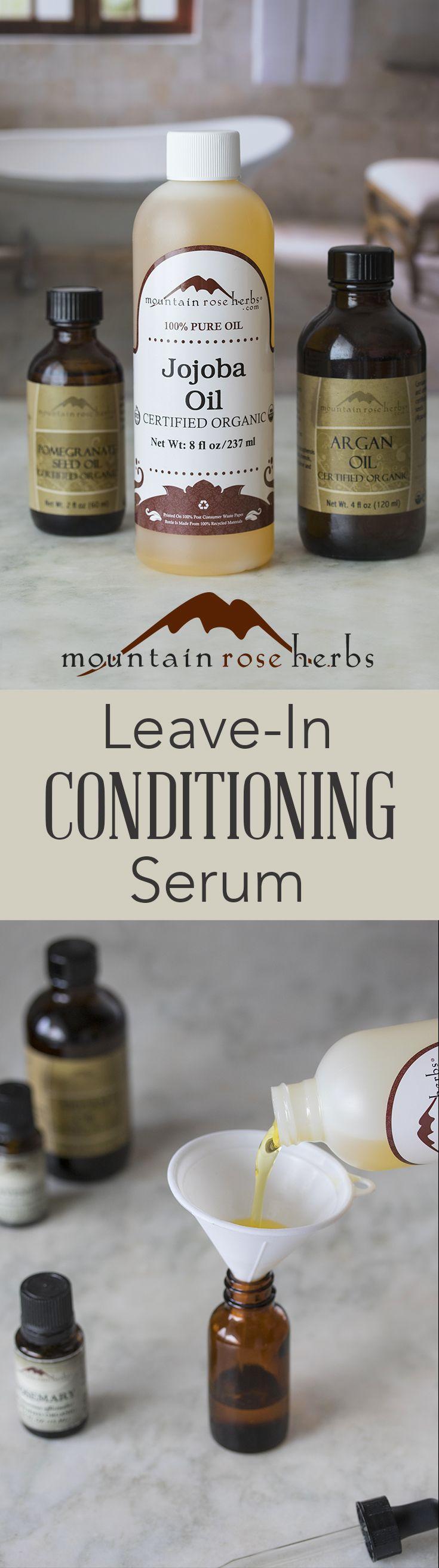 DIY Leavein Conditioner with Jojoba & Argan Oils Recipe