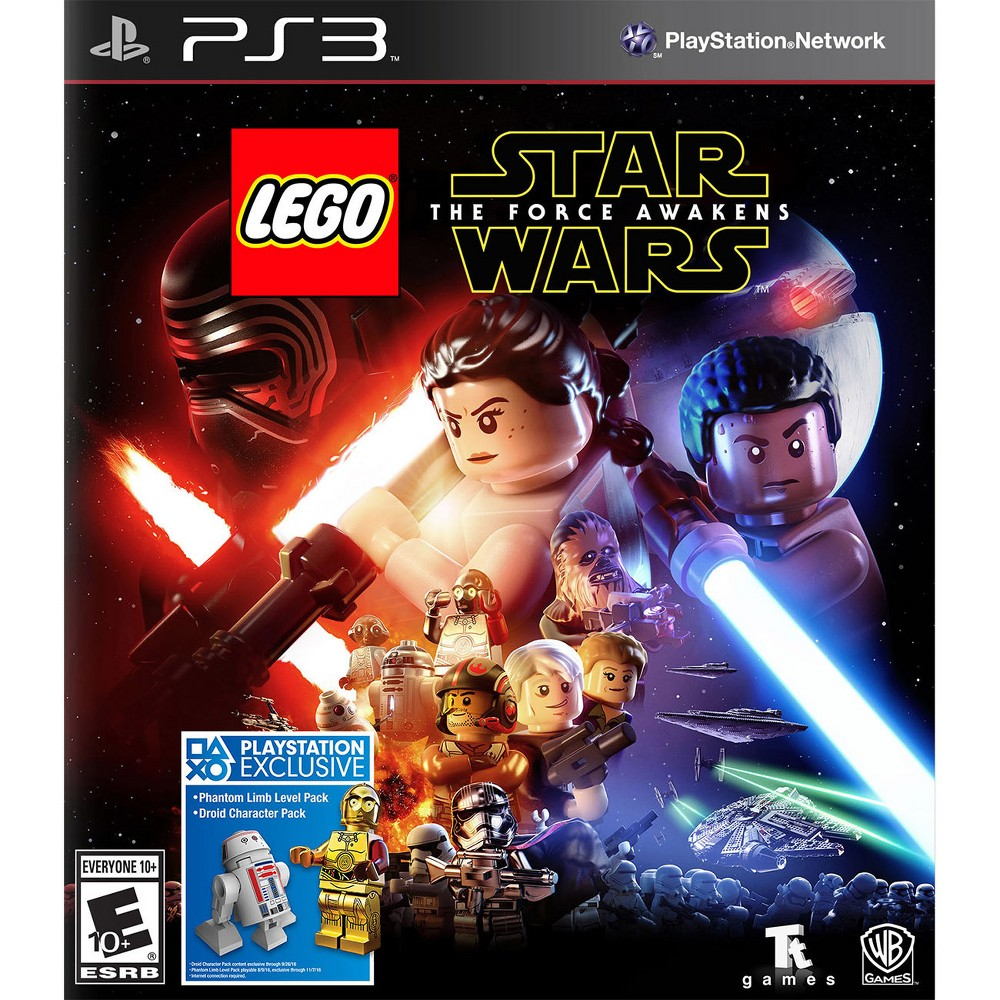 Lego Star Wars The Force Awakens Pre Owned Playstation 3