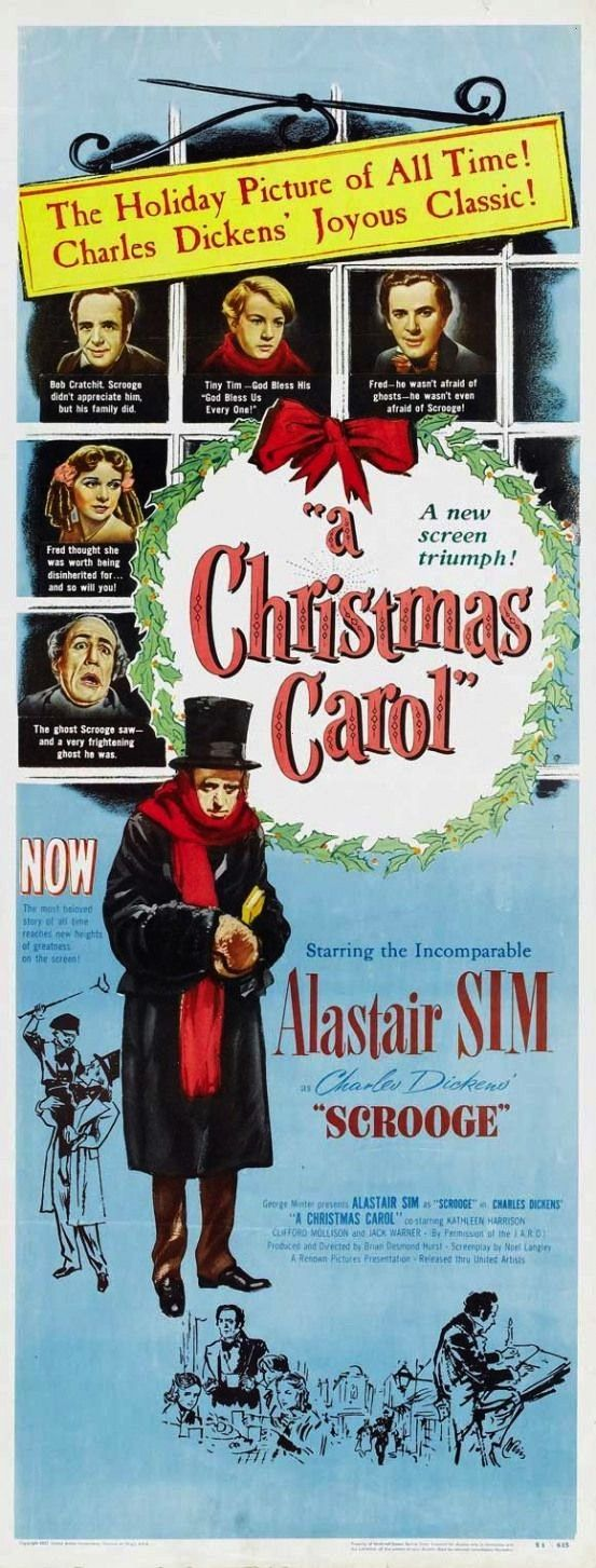 Christmas Carol 14x36 Movie Poster 1951A Christmas Carol 14x36 Movie Poster 1951 From 600 Hunt For The Wilderpeople bluray The Breakfast Club Poster at We had to start if...