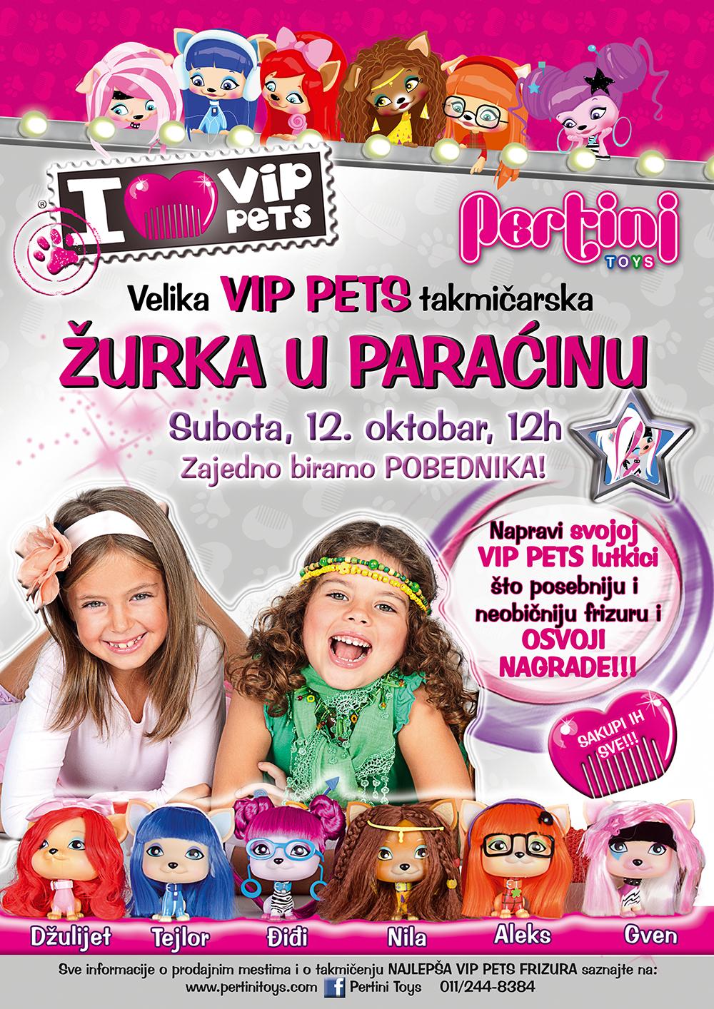 Vip Pets Pertini Toys Paracin