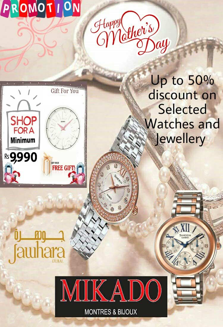 a7a2484affe61 MIKADO - Up to 50% discount on selected Watches and Jewellery: Happy ...