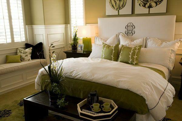 feng shui schlafzimmer einrichten wandfarbe grün | Schlafzimmer ...