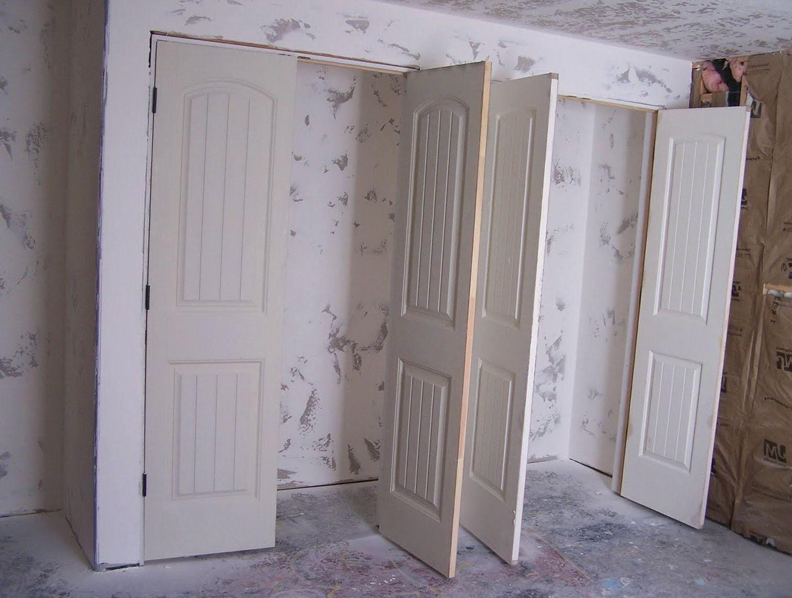 Genial Double Swing Out Closet Doors