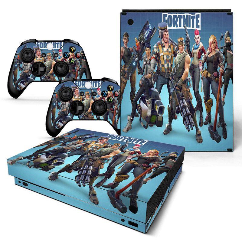 Fortnite Battleroyale Xbox One X Console Controller Skin