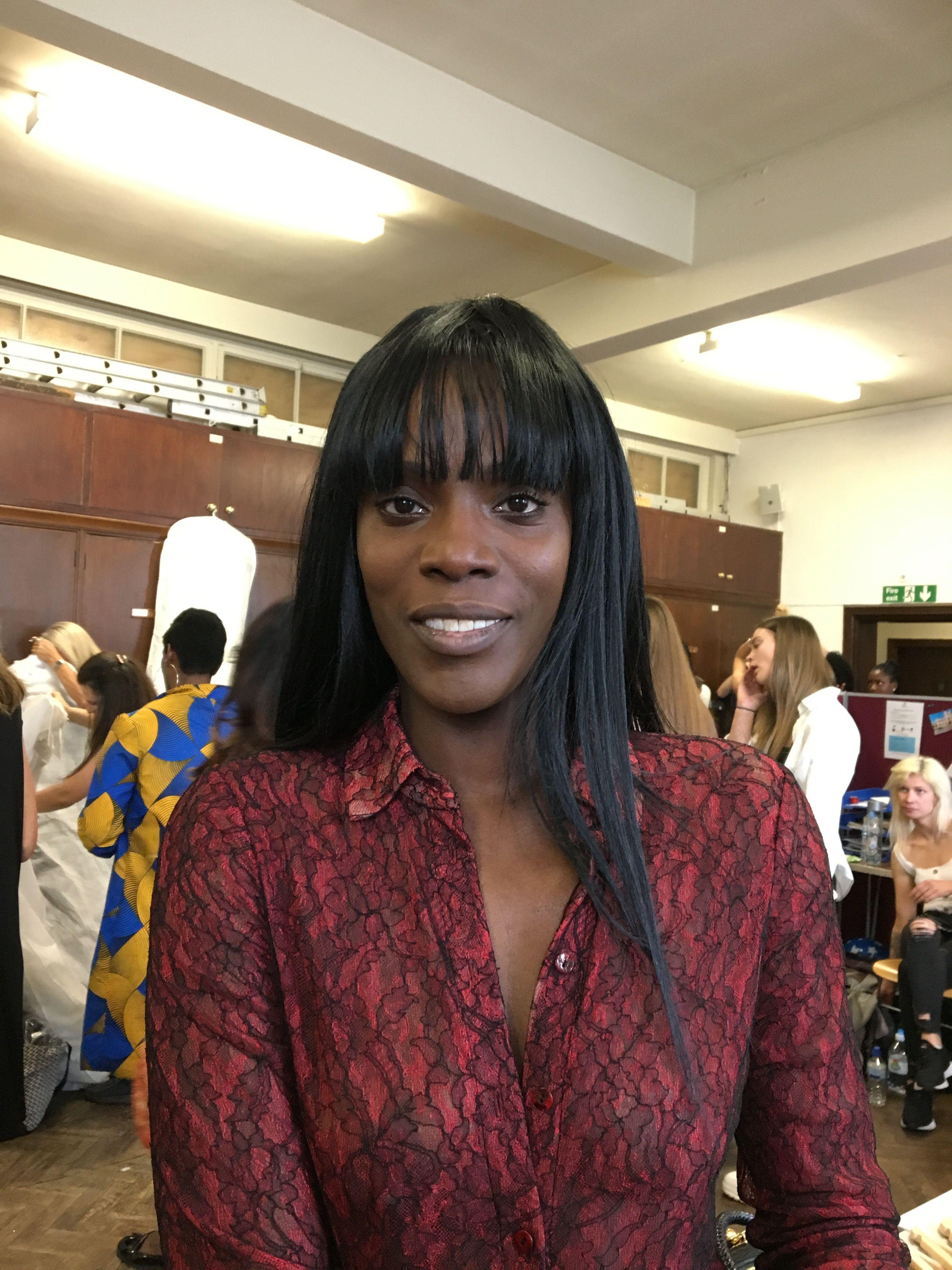 Models at Leicester Fashion Week wearing Flori Roberts