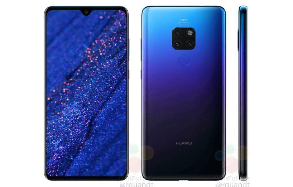 Ja E Conhecida A Versao Twilight Do Huawei Mate 20 Smartphone