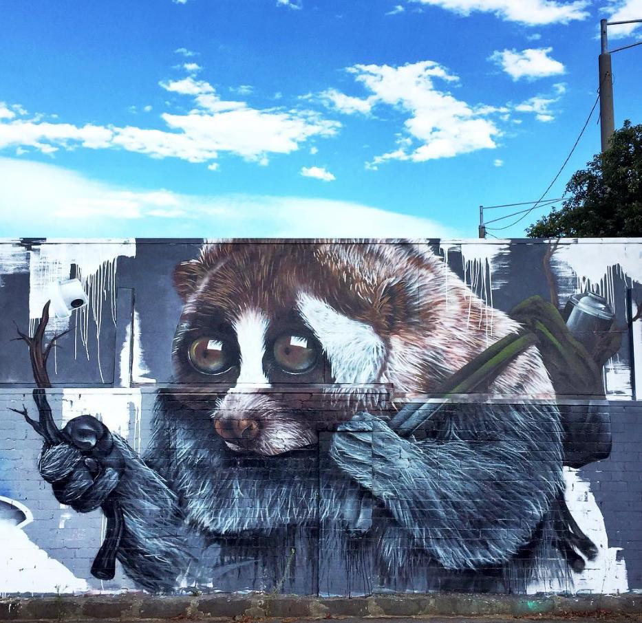 Sugar in Melbourne, Australia, 2017 Street artists