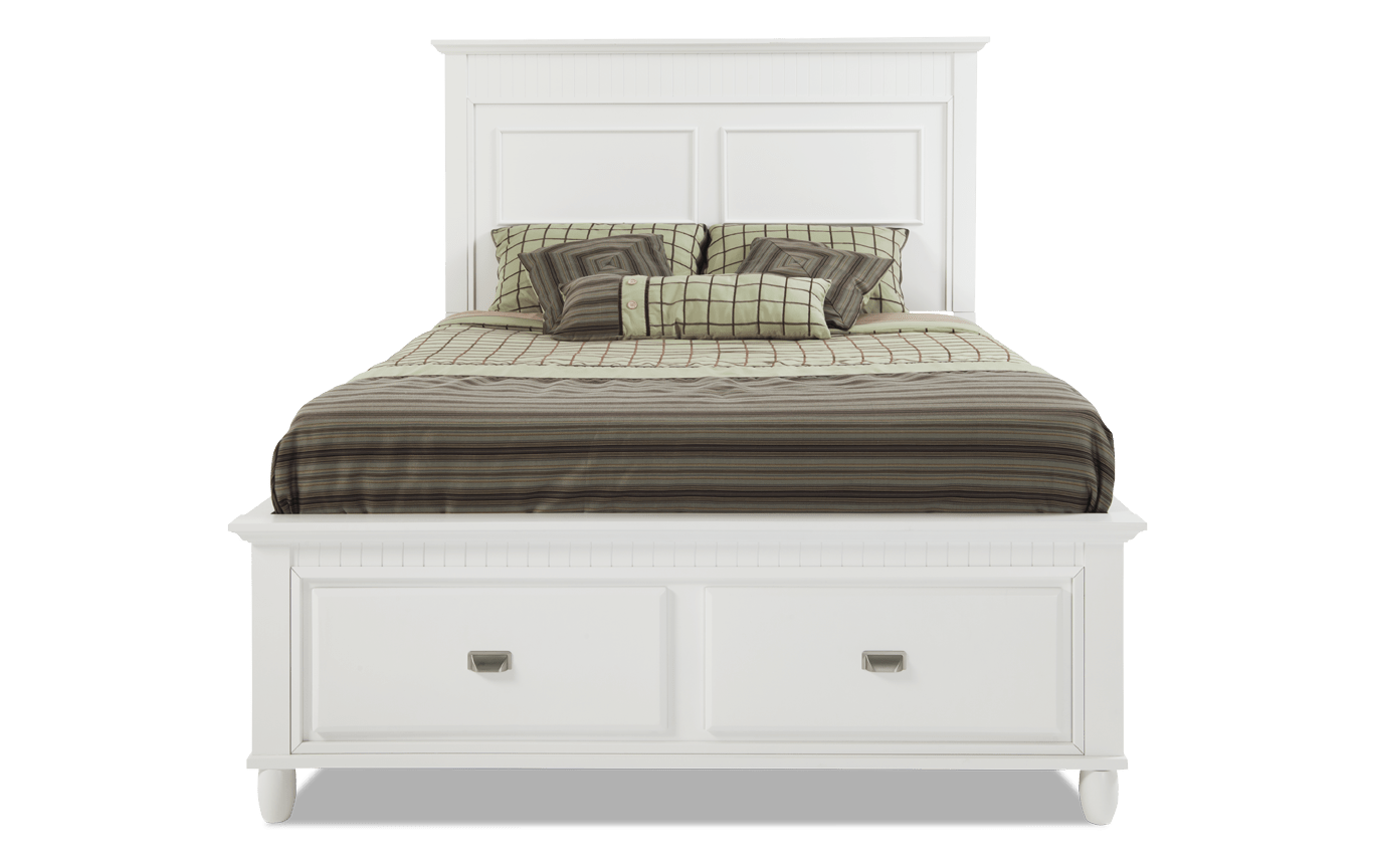 Spencer Storage Bed Bob's Discount Furniture Grey
