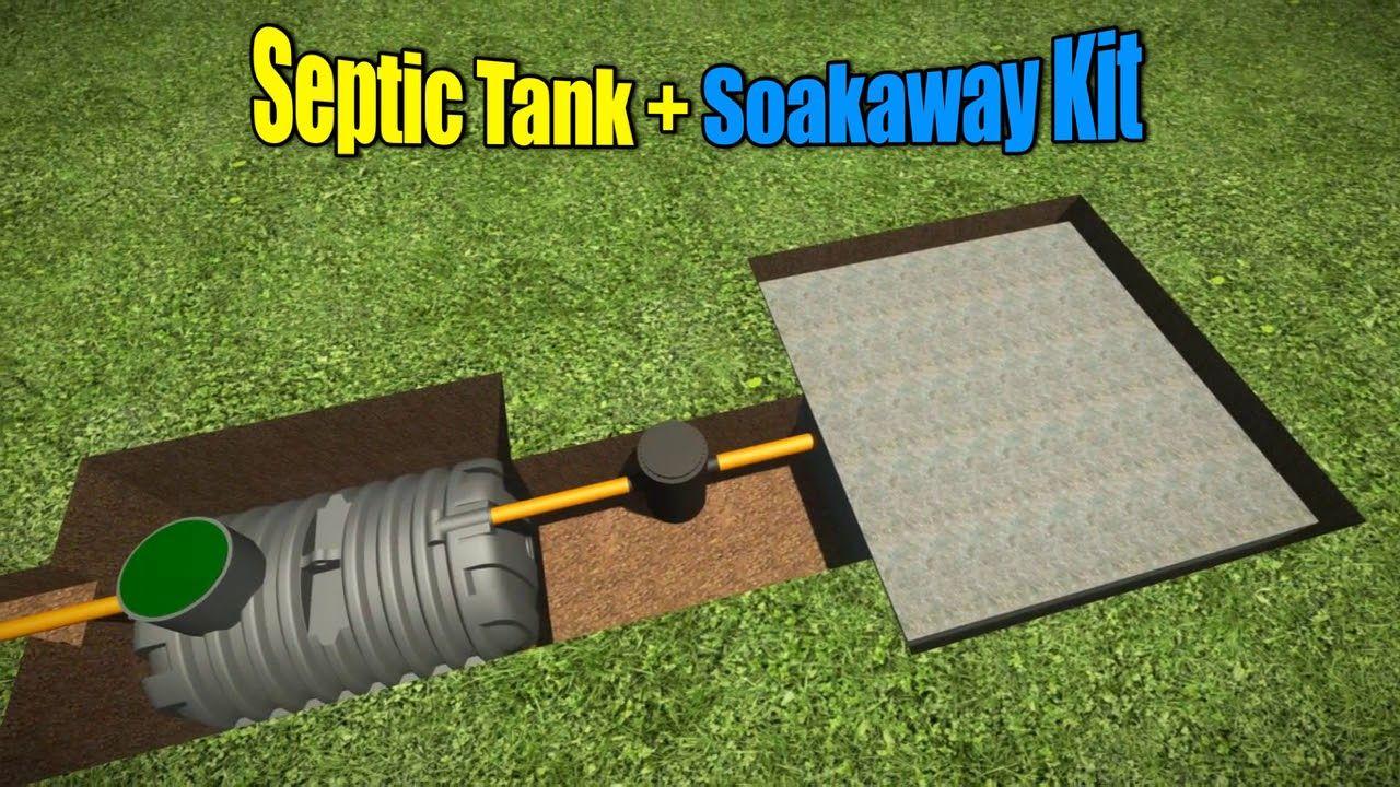 Septic Tank Soakaway Design Guide Septic tank